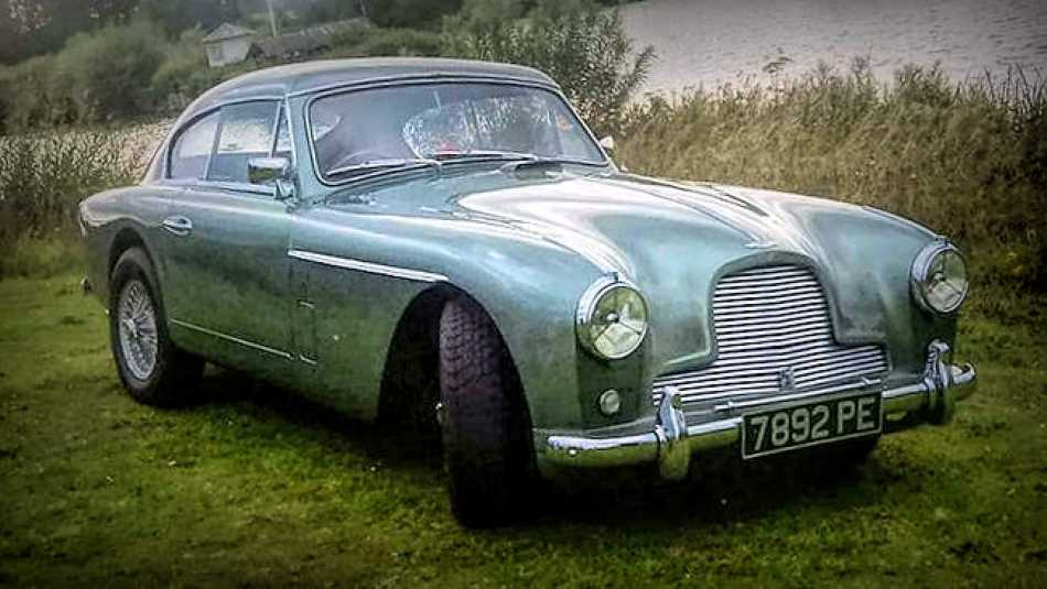 Doris the Aston Martin DB2 will be out and about this summer.